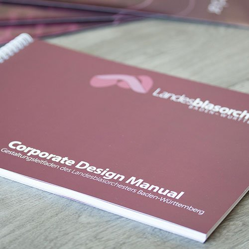 Corporate Design Landesblasorchester