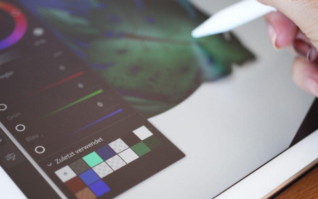 Mein erstes Mal mit Adobe Fresco