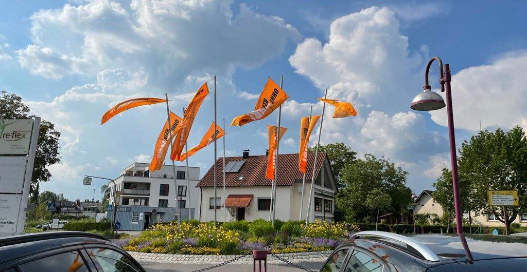 WBB Flaggen in Baienfurt